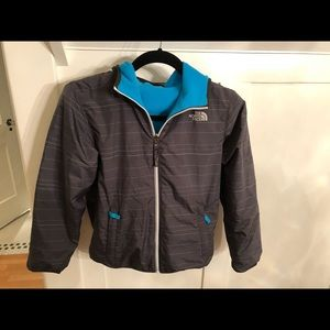 Youth The North Face reversible windbreaker Jacket